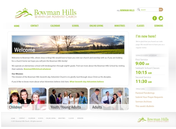 BH website 3.3