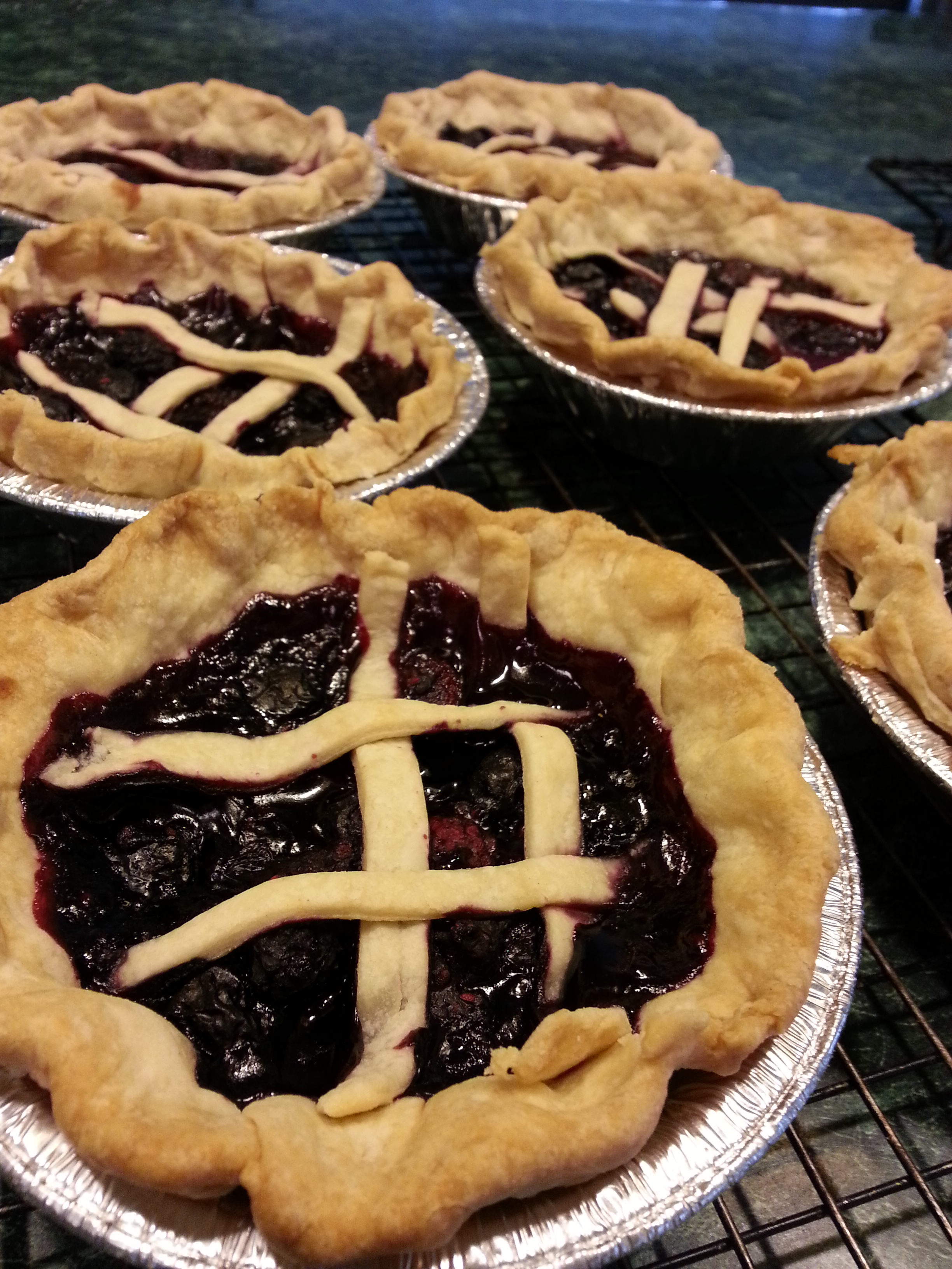 Photography: Mixed Berry Pie