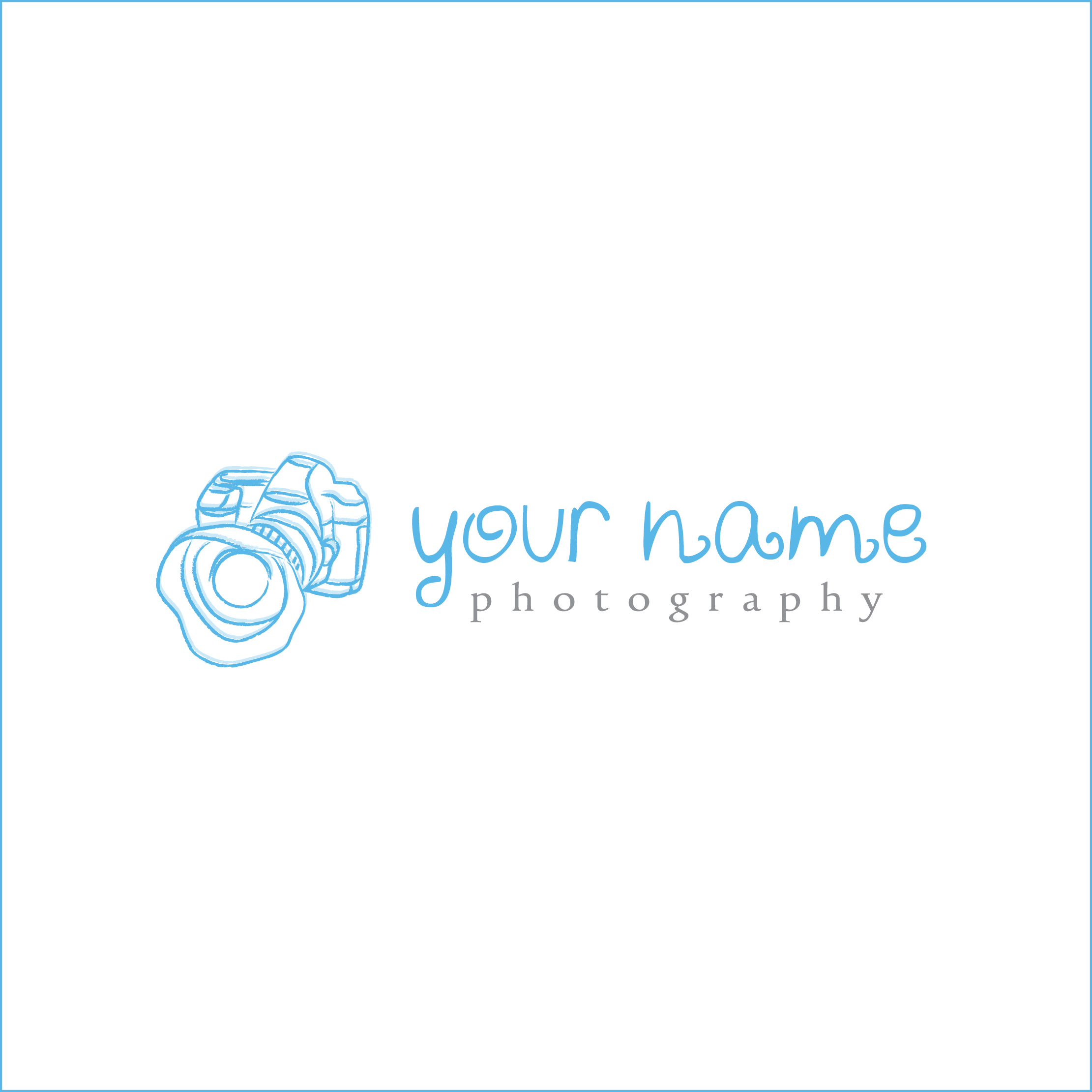 Premade Photography Logo: $35.00