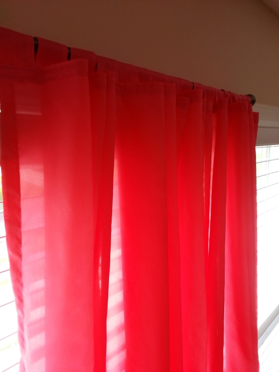 DIY: curtains